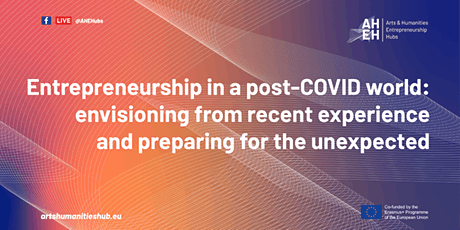 Entrepreneurship in a post-COVID World: Envisioning from Recent Experience tickets