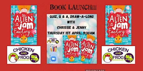An Alien in the Jam Factory Book Launch tickets