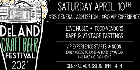 12th Annual DeLand Craft Beer Festival tickets