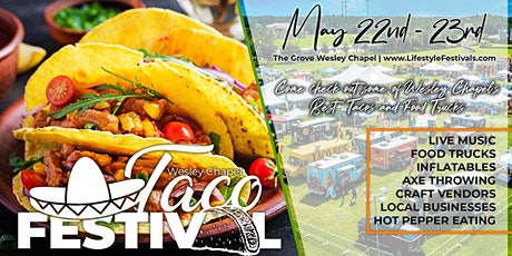 2nd Annual Taco Festival tickets