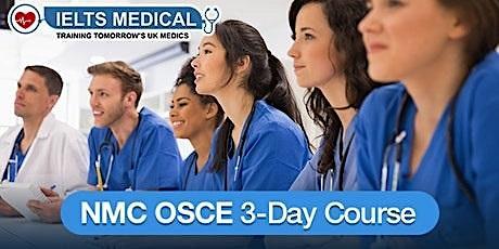 NMC OSCE Preparation Training Centre training - 3-day course (November) tickets