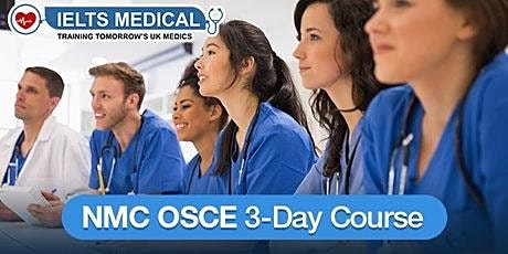 NMC OSCE Preparation Training Centre training - 3-day course (December) tickets