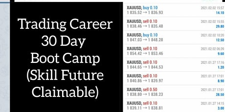 TRADING Career 30 Day Boot Camp (Skill Future Claimable) tickets