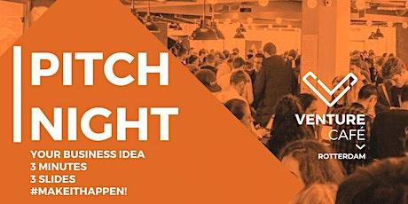 Venture Café Pitch Night tickets