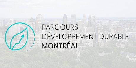 Séance d'information sur le Parcours Développement durable Montréal 2021 billets