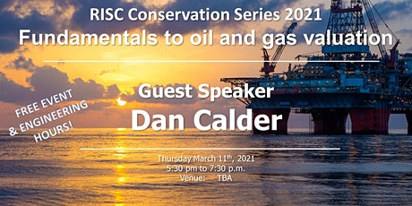 RISC Conversation Series 2021- Fundamentals to Oil & Gas Valuation tickets