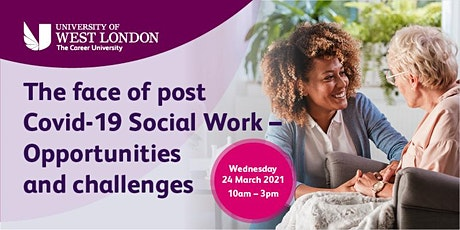 The Face of Post Covid Social Work – Opportunities and Challenges tickets