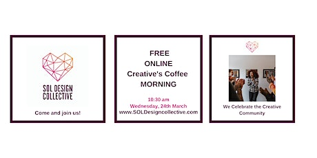 Online Creative's Coffee Morning: We Celebrate The Creative Community tickets
