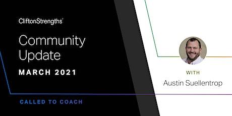 Gallup Coaching Community Call - Community Update with Austin Suellentrop biglietti