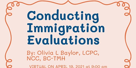 How to conduct Immigration Evaluations Tickets