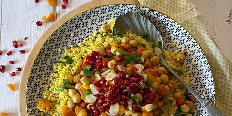 Moroccan Style Couscous and Chickpea Salad tickets