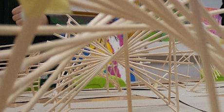 Einführungsangebot Architektur experimentell entdecken-Paraboloide Flächen Tickets