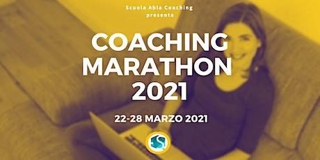 COACHING MARATHON MARZO 2021 biglietti