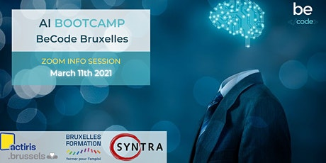 Info Session - AI / DATA OPERATOR - BeCode Brussels billets