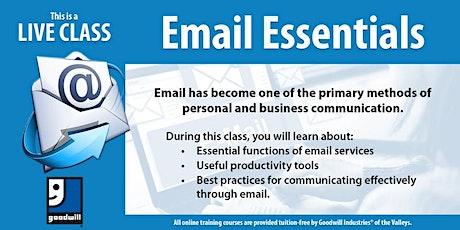Email Essentials tickets