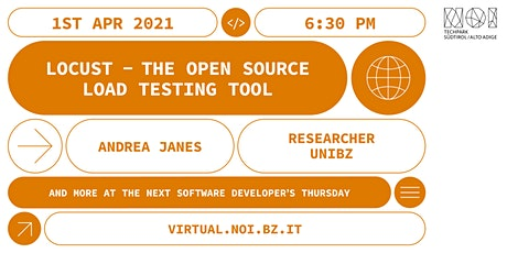 Software Developers' Thursday - locust.io, an open source load testing tool boletos