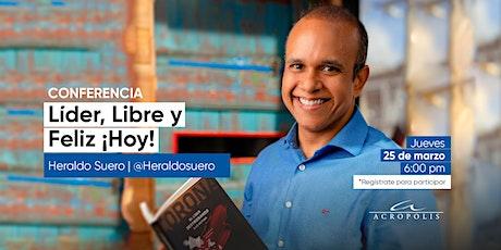 Líder, Libre y Feliz ¡Hoy! entradas