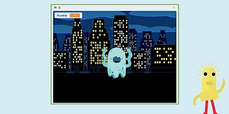 Ferienprogramm Programmieren für Fortgeschrittene mit Scratch: Monsterjagd tickets