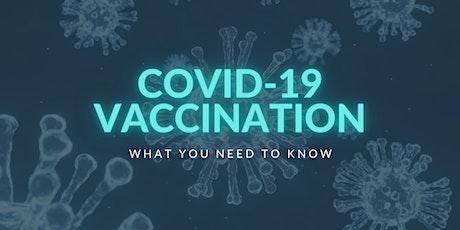 Virtual Town Hall: COVID-19 Vaccination FAQ tickets