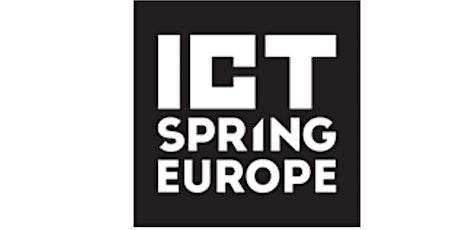 ICT Spring Europe 2021 tickets
