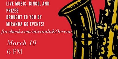 Miranda KO Events Jazz night BINGO! tickets