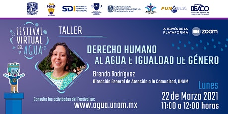 Taller - Derecho Humano al  Agua e Igualdad de  Género entradas