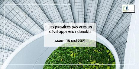 Les premiers pas vers un développement durable billets