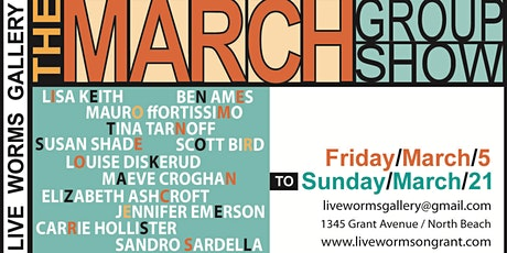 North Beach First Friday & March Art Exhibition tickets