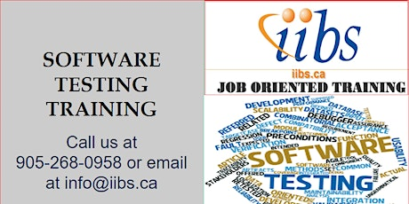 We are starting Software Testing Professional Training !!! tickets