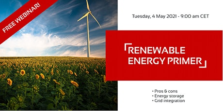 FREE WEBINAR: Renewable Energy Primer (REN903) tickets