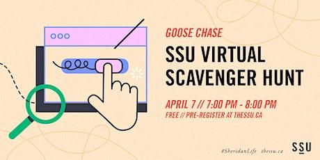 SSU Virtual Scavenger Hunt - GooseChase tickets