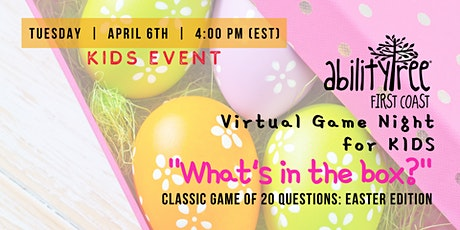 Virtual SociAbility Game Night: What's In the Box? (Kids Event) tickets