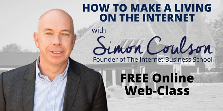 How To Make A Money On The Internet -  With Simon Coulson image