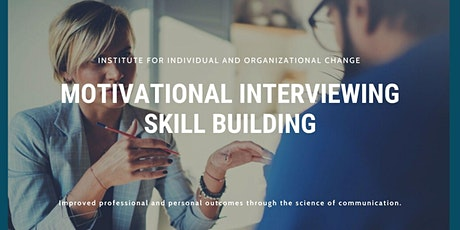 Motivational Interviewing Skill Building Series tickets