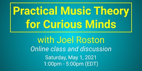Practical Music Theory for Curious Minds tickets