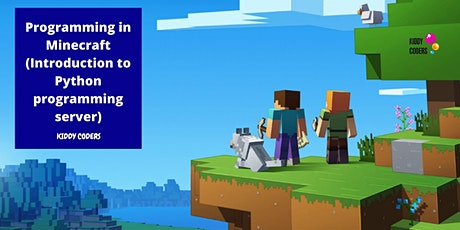 Programming in Minecraft (Introduction to Python programming server) tickets