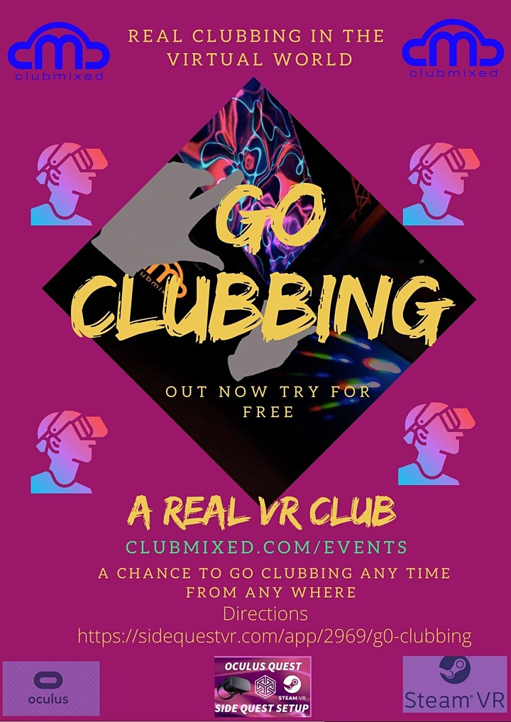 Clubmixed Presents G0 CLUBBING image