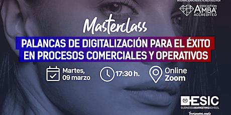 Palancas de digitalización para el éxito en procesos comerciales/operativos boletos