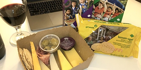 Cheese & Girl Scout Cookie Virtual Pairing tickets