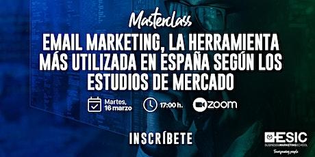Email Marketing, la herramienta más utilizada en España boletos