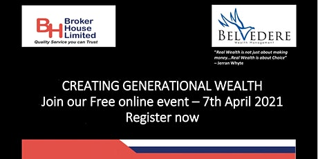 Creating Generational Wealth tickets