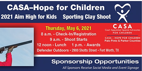 Aim High for the Kids Sporting Clay Shoot tickets