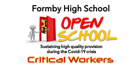 FHS Critical Worker Open School 8-9 March 2021 tickets
