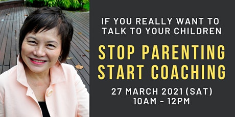 Stop Parenting. Start Coaching (Face-to-Face Workshop) tickets