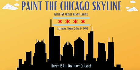 VIRTUAL Paint Class in Chicago w/Kenny Lapins from Fulton Street Collective tickets