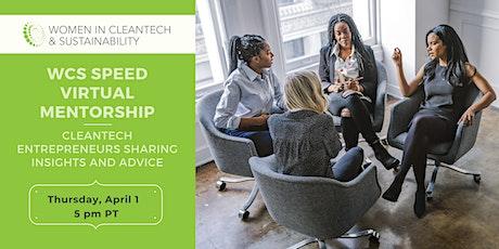 Women in Cleantech: Speed Virtual Mentorship tickets