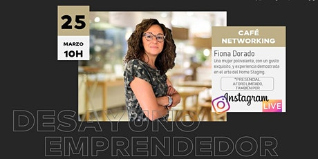 DESAYUNO EMPRENDEDOR, Fiona Dorado entradas