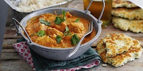 Livestream Online Cookery Class - Indian Feast tickets