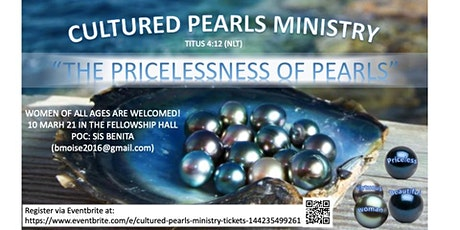 CULTURED PEARLS MINISTRY Tickets