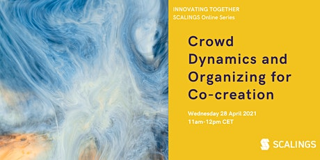 Crowd Dynamics and Organizing for Co-creation tickets